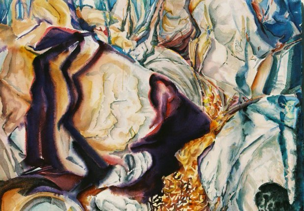 Rock Tapestry Watercolor